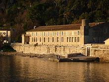 L'ancien bagne port de la Darse