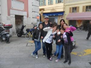 chasse au trésor enfants Nice